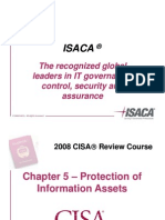 Ch5-2008 CISA 1_45_Imp of Info Security Mgmt