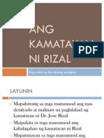 Ang Kamatayan Ni Rizal