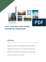 Samsung C&T 2Q11 Earnings