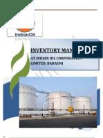 BIPUL KUMAR inventory managment in iocl barauni refinery