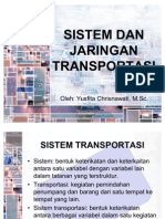 Kuliah I---sistem Dan Jaringan Transportasi