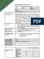 Yıldız Teknik Üniversitesi - Elektrik Mühendisliği Bölümü- 0124530 Yol Aydinlatmasi - DERSİN ÖĞRETİM PROGRAMI