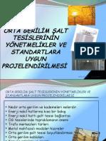 Orta gerilim şalt tesislerinin yönetmelikler ve standartlara uygun projelendirilmesi