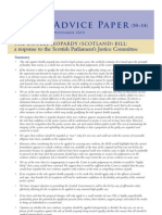 AD10-14 THE DOUBLE JEOPARDY (SCOTLAND) BILL: