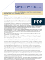 AD11_01 THE TEACHING OF HISTORY IN SCOTTISH SCHOOLS: