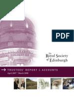 TRUSTEES' REPORT & ACCOUNTS April 2007 – March 2008