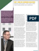 SAP CRM on-Demand Solution [1]