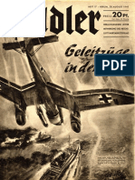 Der Adler nº 17 (20 Agosto 1940) Luftwaffe Magazine. Revista alemana
