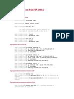 Comandos Basicos de Router Cisco(1)