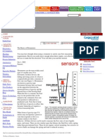 The Basics of Rotameters - Sensors