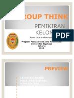 Group Think (Tugas Presentasi).