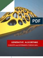 Generative Algorithms CaE Porous Shell