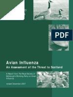 Avian Influenza An Assessment of the Threat to Scotland