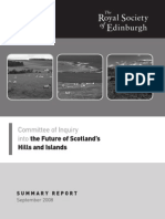 Summary - the Future of Scotland's Hills and Islands