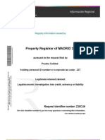 Land Registry Information