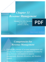Chapter 13 Revenue Management Power Point Presentation