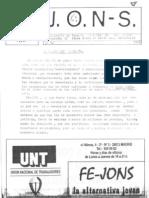 JONS nº 10 (1999)
