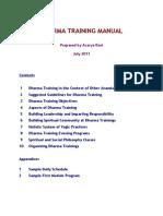 Dharma Training Manual