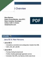 Java EE 6 Overview