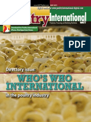 poultryinternational201105-dl | Agriculture | Foods