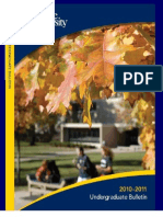 The University of Akron 2010-2011 undergraduate bulletin