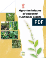 Agro Technique of Selected Med Plant