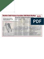 New District Meeting Schedule