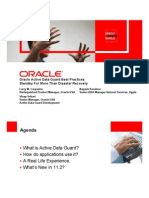 Oracle Active Data Guard Best Practices