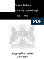 RSE Fellows - 1783 - 2002. A-K