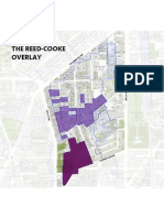 Map of the Reed Cooke Overlay In The Reed Cooke Neighborhood, Washington DC