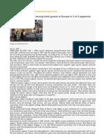 2010 European Hotel Guest Satisfaction Index Study