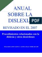 2007SpanishHandbook sobre Dislexia
