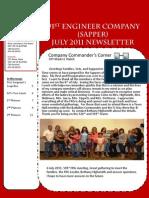 591st July Newsletter