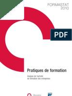 Formastat 2010 - Pratiques de formation