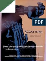 FILM ANALYSIS | Allegoric Religiosity in Pasolini's ACCATTONE (c.1961)