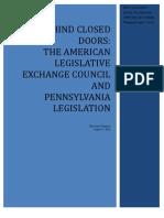 Pennsylvania ALEC Report