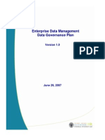 Data Governance Plan