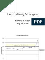 Hop Trellis Budget