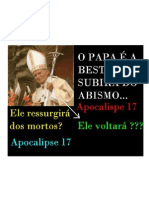 O Retorno do Papa JOÃO PAULO II - THE RETURN OF JOHN PAUL II ?