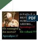 O Retorno do Papa JOÃO PAULO II - THE RETURN OF JOHN PAUL II ?
