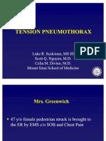 Chest Tension Pneumothorax