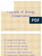 Principle of Energy Conservation