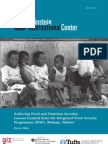 Achieving Food and Nutrition Security