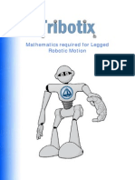 Mathematics Required for Robotic Motion