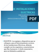 Tipos de Instalaciones Electric As