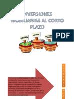 Inversiones Mobiliarias Al Corto Plazo