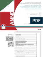 annexe 8 (circulaire interministérielle n°DGUHC 2007-53 du 30 novembre 2007)