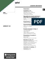 Armxxf 145 (Fr) Mode d'Emploi
