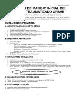 Protocolo de Manejo Inicial Del Paciente Traumatizado Grave[1]