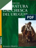 Compendio de Literatura Gauchesca Del Uruguay - 2006